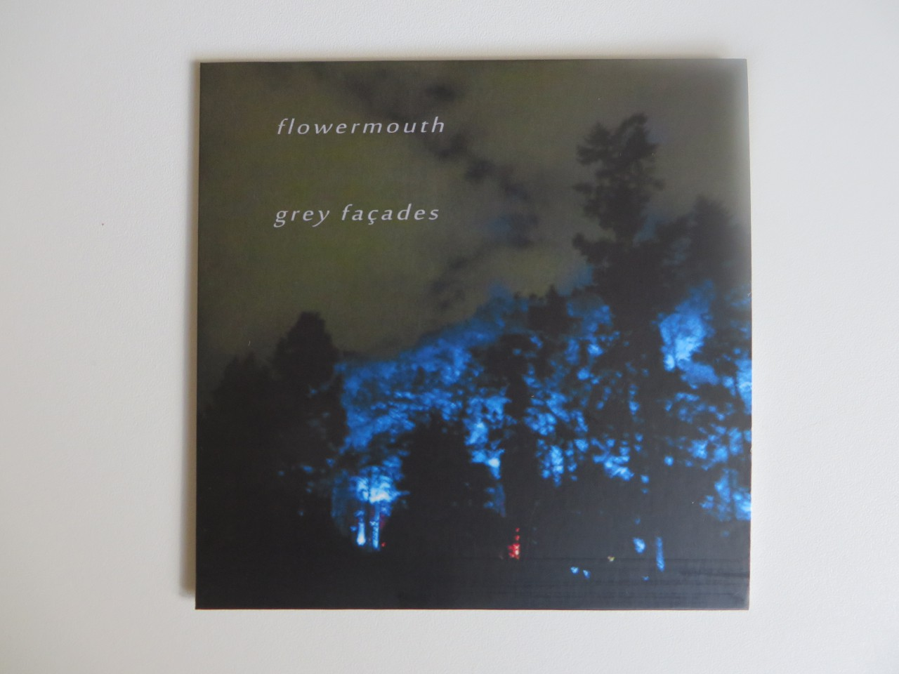 New flowermouth album: Grey façades